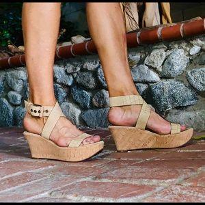 VIA SPIGA wedge sandal